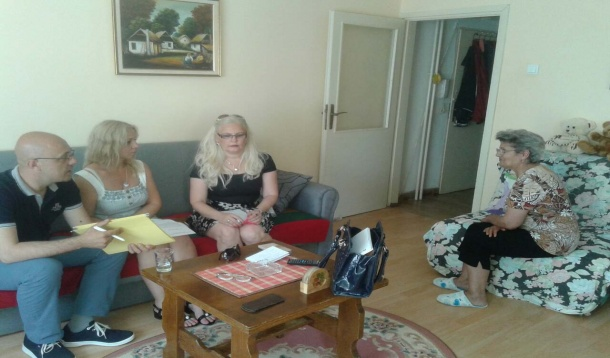 Mobile Team Visited clients in Kragujevac