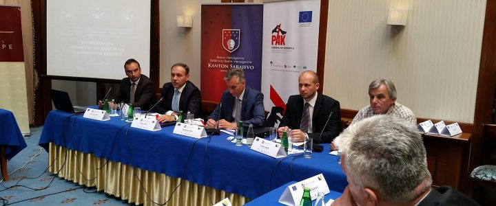 Round table discussion on strengthening the capacity of institutions of Sarajevo Canton in the fight against corruption