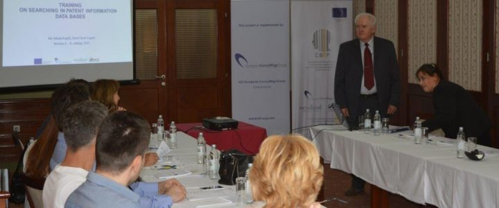 Conducted training on searching in patent information databases of the institute's staff for work in the information centers was held from 4. to 8. May 2015. in Mostar and Sarajevo, BIH.
