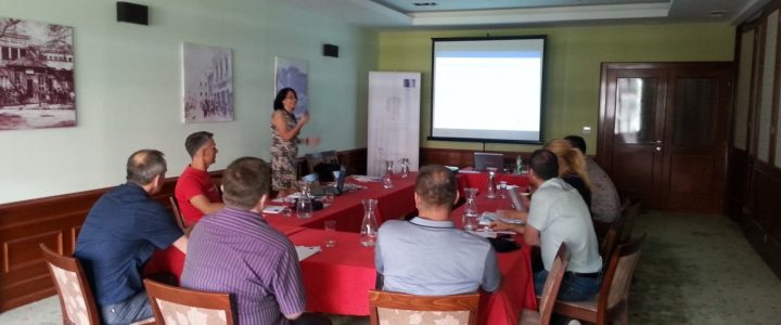 Training of the Institute's staff for work in the Information-Educational Centres
