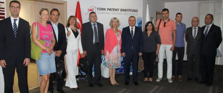 """Study tour in Turkey within the project """"Capacity Building of the Institute for Intellectual Property through the Establishment of Information-Educational Centers of the Institute"""""""