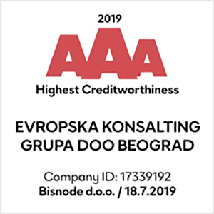 AAA Creditworthiness Rating
